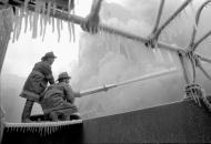 Fighting in temperatures of 13-15 degrees Fahrenheit